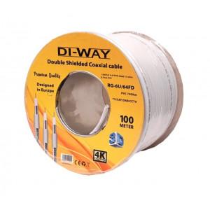 Koaxiální kabel CCS DI-WAY cívka 100 metrů