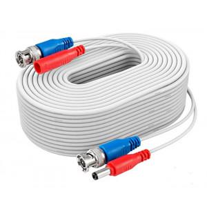 Napájecí a signálový kabel pro kamery EVERCON AHD-30 WHITE
