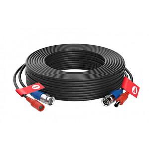 Napájecí a signálový kabel pro kamery EVERCON AHD-40 BLACK