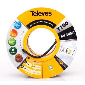 Venkovní koaxiál TELEVES - cívka 100m