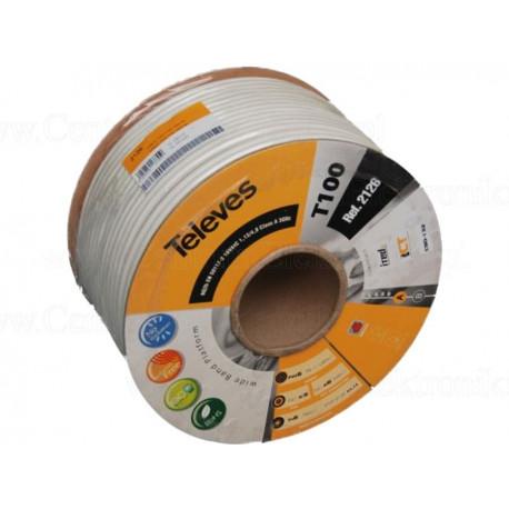 Koaxiální kabel TELEVES 5 mm - cívka 100 m