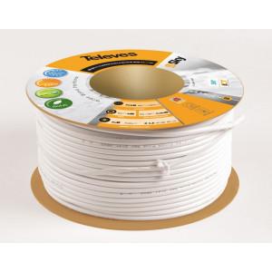 Koaxiální kabel CU TELEVES 6,9 mm - cívka 100 m