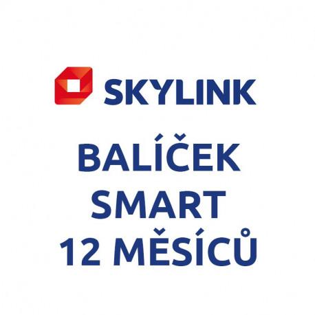 Skylink - balíček SMART 12 měsíců