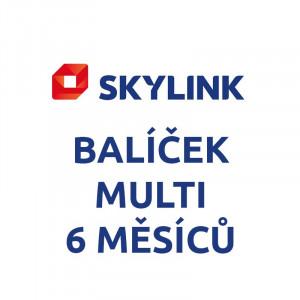 SKYLINK - balíček MULTI 6 měsíců