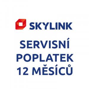 Skylink - SERVISNÍ POPLATEK - 12 měsíců