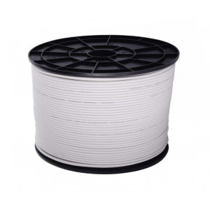 Cu koaxiální kabel RG-6U/64FA 7 mm LTE - cívka 100 metrů