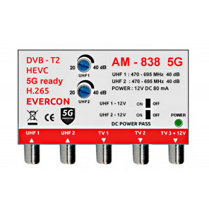Anténní zesilovač AM-838 5G