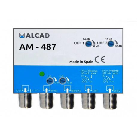 Anténní zesilovač ALCAD AM-487