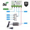 5G READY anténní set pro 6 TV Evercon 949-101-6