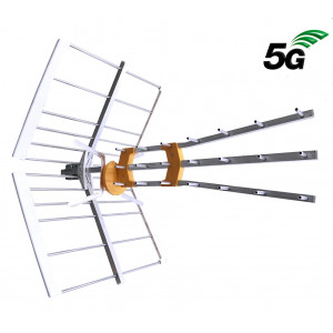 5G ready DVB-T2 anténa EVERCON 4K8