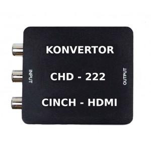 Konvertor video signálu Mastercon CHD-222