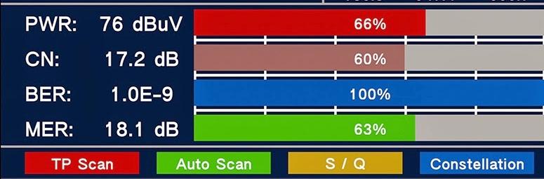 Parametry DVB-T signálu